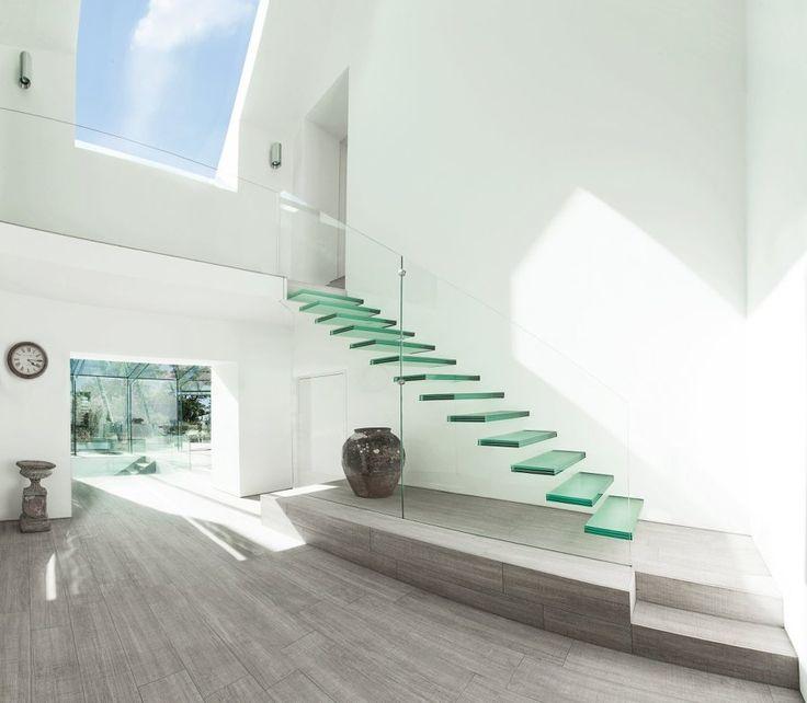 vidrio para la construcción de casas