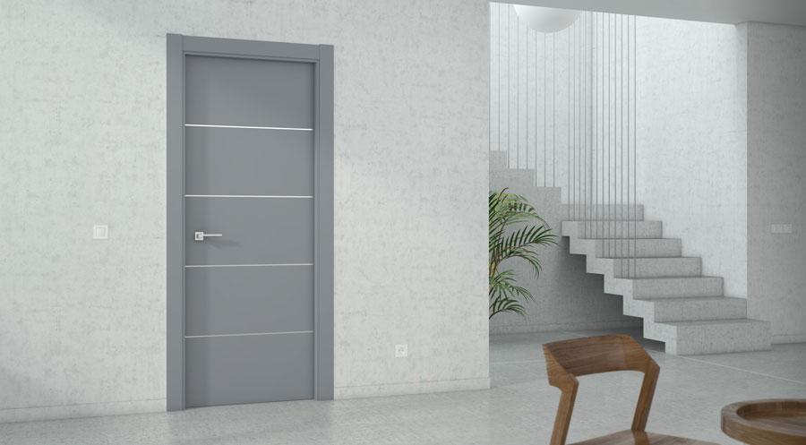 Puertas de aluminio: una solución basada en la innovación - Gron CR