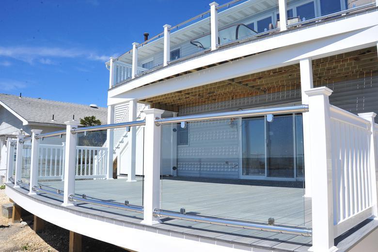 balcones de vidrio temperado